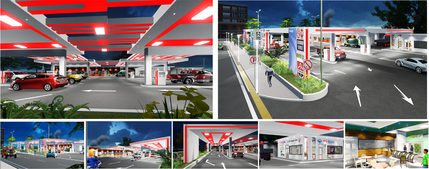 Architectural Design, 3D Rendering And photoshop Post Production (Architect Kaleab Matiwos)